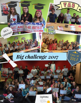 Big challenge 2017 We are the best  -  voir en grand cette image